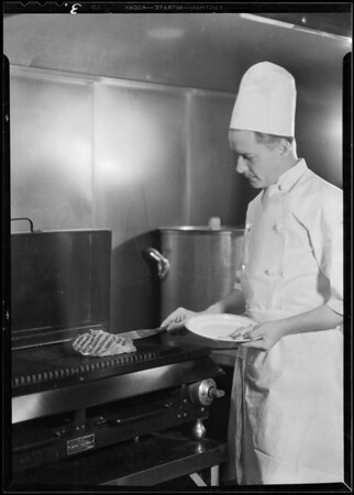 Restaurant- electric ranges, etc, Southern California, 1930