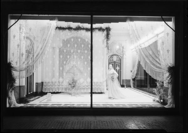 Window, May Company, Southern California, 1930