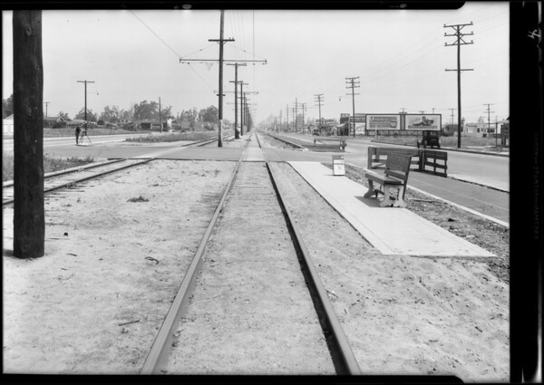 Intersection - West 106th Street and South Vermont Avenue, Los Angeles, CA, 1931