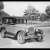 Pontiac, taken for Union Auto, Southern California, 1928