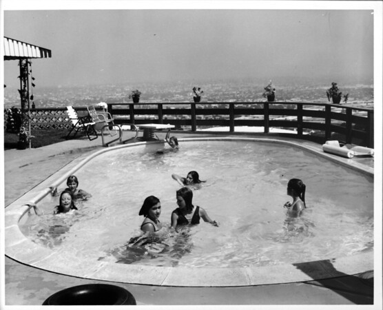 Residential home swimming pool of 1948