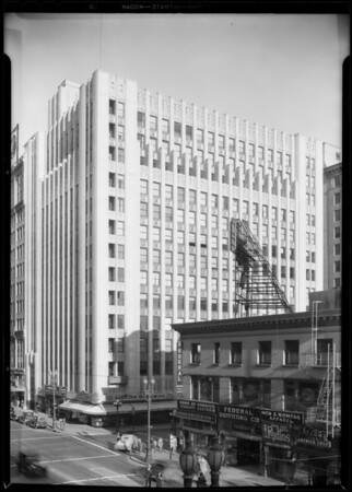 West 9th Street and South Broadway building, A.W. Hackel Co. Ltd., Los Angeles, CA, 1931