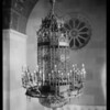 Forve Pettibone light fixtures in Elks Club, Southern California, 1926