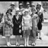 Group of high school girls at Hill Street office, Pacific Ready Cut, Los Angeles, CA, 1927