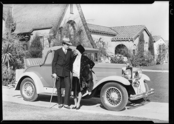 Cars & children group, Southern California, 1928