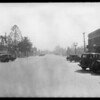 De Soto, R.W. William, owner, Intersection, Central & Los Feliz, Glendale, & Ford, Southern California, 1931