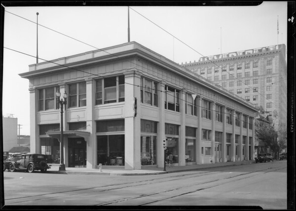 Building, West Olympic Boulevard and South Hope Street, Los Angeles, CA, 1931