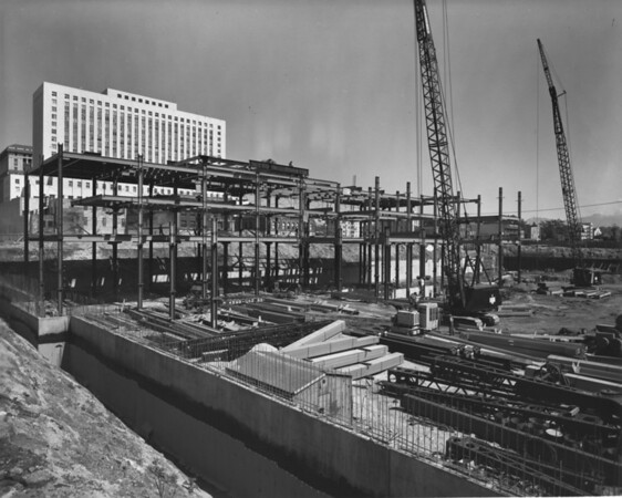 Building under construction, vicinity of Civic Center