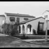 His homes - exterior & interior, Southern California, 1931