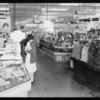 Modern market (interior), Southern California, 1932