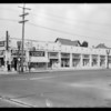 Northwest corner of South Hill Street & West Adams Boulevard, Los Angeles, CA, 1929