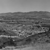 A hillside view of Van Nuys and North Hollywood, showing much open land