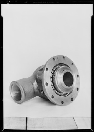 Rotary hose swivel, Oil Well Manufacturing Co., Southern California, 1930