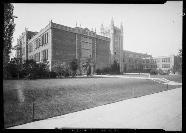 Los Angeles High School, Los Angeles, CA, 1924