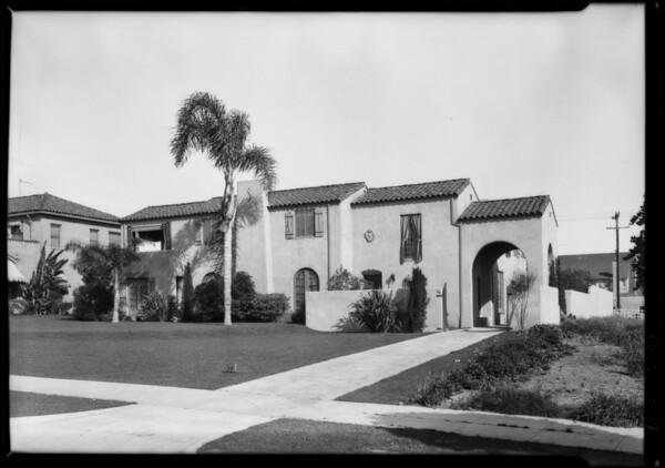 68 Fremont Place, Los Angeles, CA, 1926