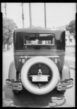 Buick truck rack, Southern California, 1926