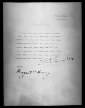 Patent papers, L.J. Allen, Southern California, 1927