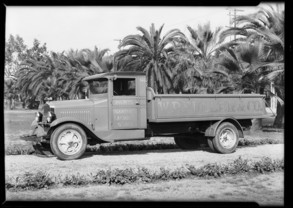 Fuller and Co. truck, Southern California, 1930