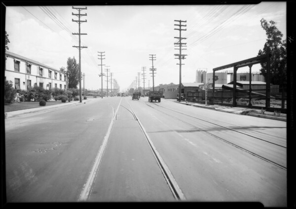 Intersection of South Alameda Street and East Washington Boulevard, Los Angeles, CA, 1931