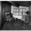 Interior residential home, living room, Home interior of 1948