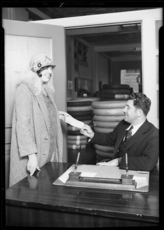 Winner of radio title, Southern California, 1930