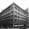 May Company Department Store located on the corner of Broadway and Eighth Street