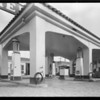 Service station at 7786 Santa Monica Boulevard, West Hollywood, CA, 1929