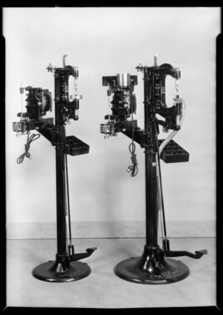 Brake truing machine, Southern California, 1930