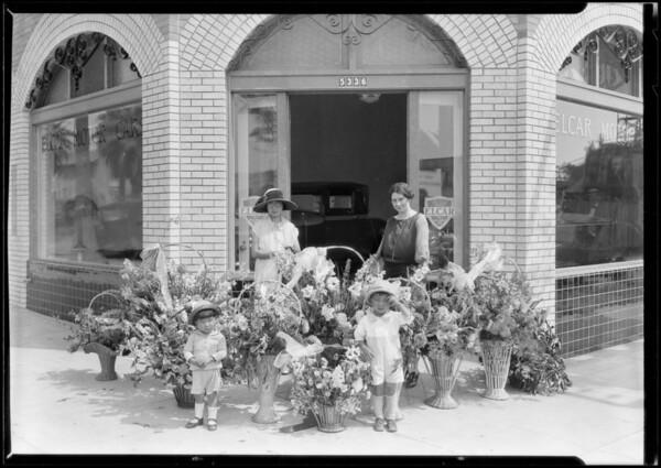 Carlos Sebastian, Elcar Motor Company, Southern California, 1925