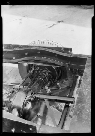 Chevrolet truck chassis, Southern California, 1930