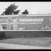Signboards, West Washington Boulevard & South La Salle Avenue, Wilshire Boulevard & South Hobart Boulevard, Los Angeles, CA, 1930