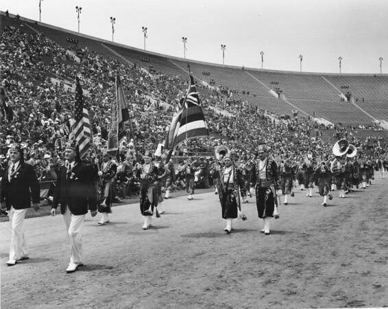 Shriner's parade inside Coliseum