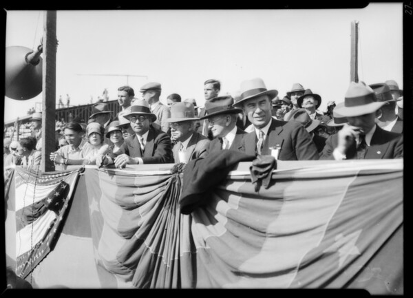 Opening day - Grand Central Airport, Glendale, CA, 1929