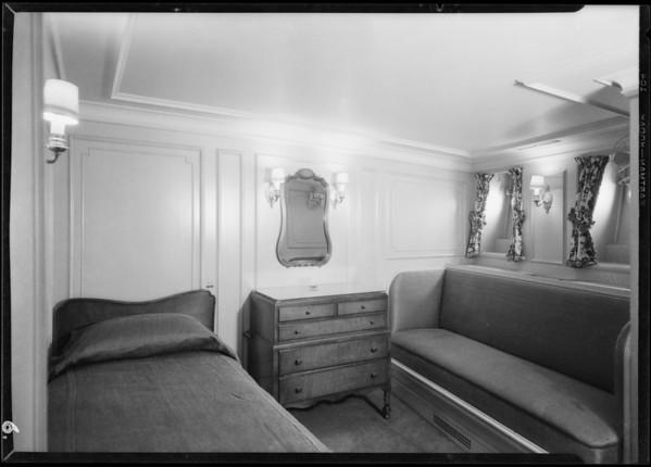 Interior views of Carissima, Southern California, 1929