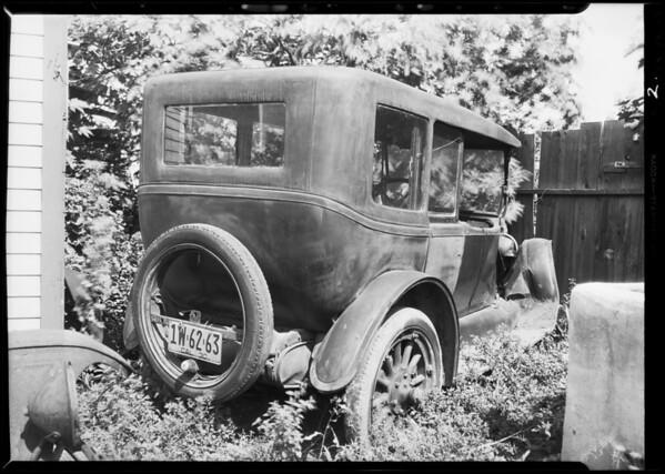 Buick, DuBois assured Ingling, injured, Southern California, 1931