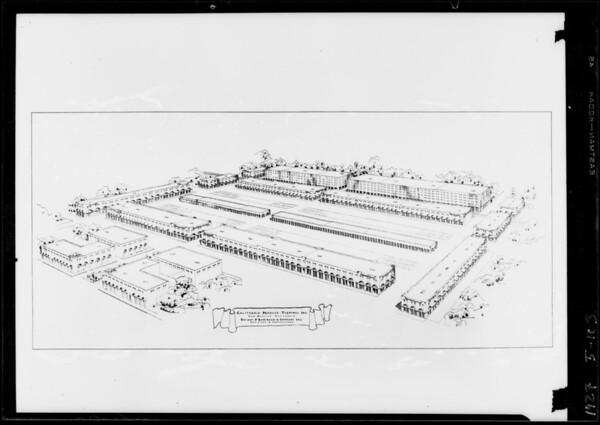 Produce Terminal, Southern California, 1927