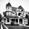 """Charles Capen's residence, known as the """"White Castle"""", located at 818 West Adams Boulevard"""