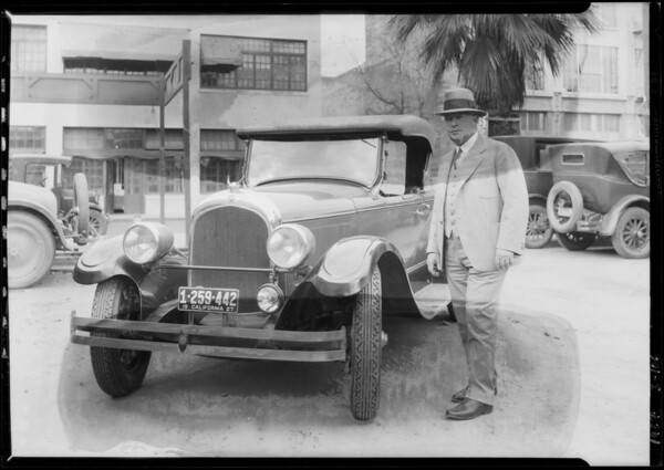 Victor Tues at Linen Laundry, Southern California, 1927