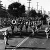 American Legion parade, marching band