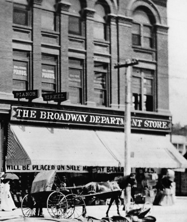The Broadway Department Store in Downtown Los Angeles