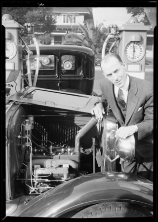 High compression Ford, Trojan Head, Southern California, 1932