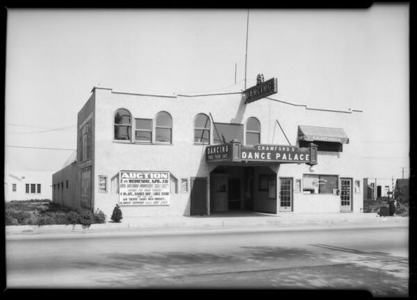 9704 South Main Street, Crawford's Dance Palace, Los Angeles, CA, 1926