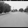Intersection, Hickory Street & South Rimpau Boulevard, Peebles, assured, policy #1412637, Union Auto Insurance, Los Angeles, CA, 1931