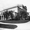 Ebell Theatre and banquet hall is located on Lucerne Avenue near Wilshire Boulevard in Hancock Park