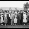 Group-- Aviation Day, Southern California, 1931
