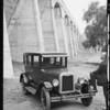 Chevrolet car, odd shots, Southern California, 1925