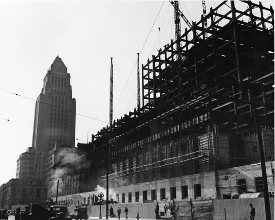 Government building under construction in Civic Center