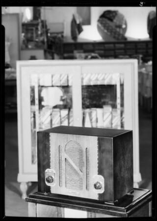 Radios, Globe Department Store, Southern California, 1935