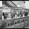 Fountain lunch counter, Broadway basement, Los Angeles, CA, 1931