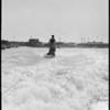 Aqua planing at Lido Beach - Newport Bay, Newport Beach, CA, 1928